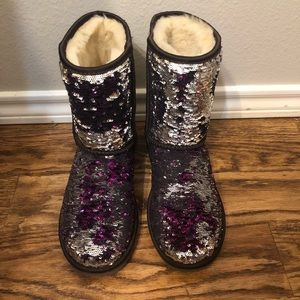 179d7db01e49 Women Sequin Ugg Boots That Change Color on Poshmark
